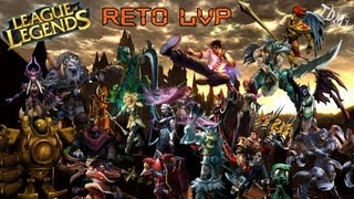 "1# League of Legends | Reto 1vs1 | LVP ""Liga de Videojuegos Profesional"""