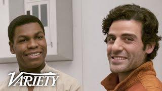 39Star Wars39 Oscar Isaac John Boyega amp JJ Abrams Talk Finn and Poe39s 39Deep39 Relationship