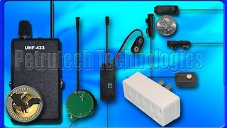 007 Bugs, Receivers, spying and listening devices PRO, Wiretaps by Petrutech Technologies