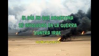 El día en que Argentina le declaró la guerra a Irak