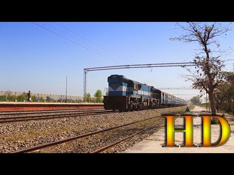 IRFCA - Pure High Speed Diesel Action Of Ala Hazrat Express At Kuchesar  Road Station 947aad296cd