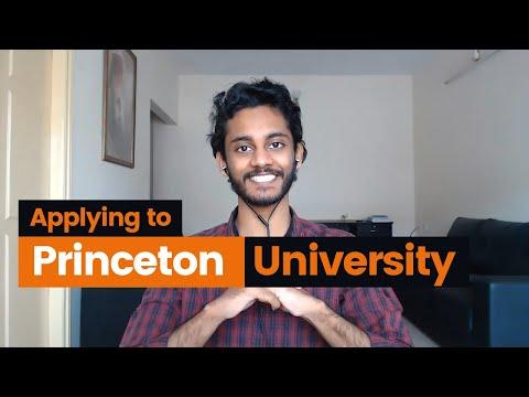 Apply with me to Princeton University's Master's program