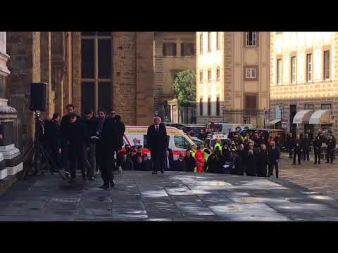 L'arrivo di Diego Della Valle in Santa Croce