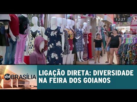 Ligação Direta: diversidade na feira dos goianos em Taguatinga | SBT Brasília 11/09/2018