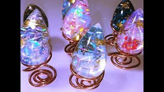 UVレジン  色々の雪景色をお届け~メイキング動画~  resin thumbnail