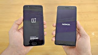 OnePlus 5 vs NOKIA 6 - Speed Test! (4K)