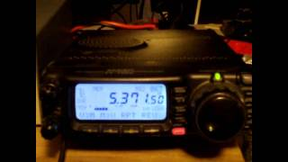 60 meter ham radio qso