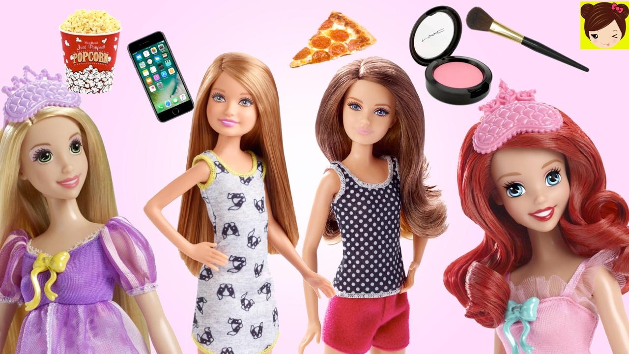 Historias de Pijamadas con Muñecas - Barbie y sus Hermanas ...
