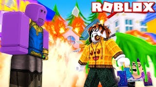 Le HERO qui SAVES THE WORLD-Roblox Indonesia Super Hero Simulator #1