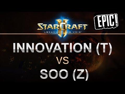 StarCraft 2 - LOTV 2017 - EPIC - INnoVation (T) v soO (Z) on Sky Garden