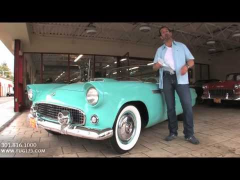 1955 Ford Thunderbird T-Bird Convertible for sale with test drive, walk through video