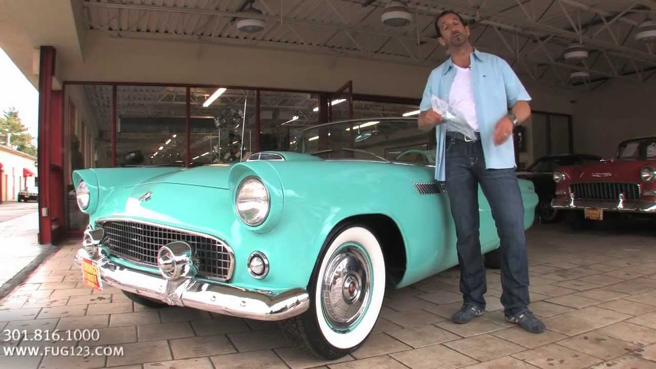 1955 Ford Thunderbird T Bird Convertible For Sale With Test Drive Walk Through Video