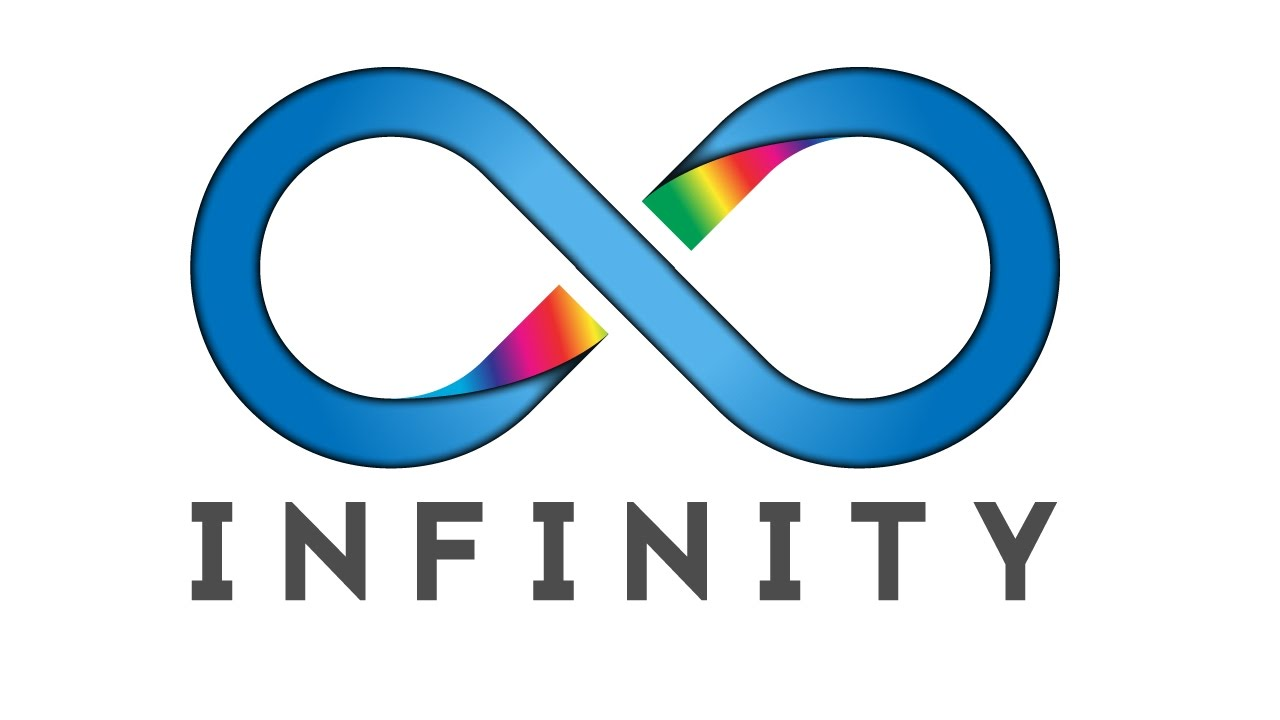 infinity logo design with illustrator a to z youtube rh youtube com infinity logistics il infinity logistics missouri