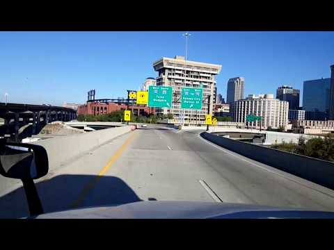 BigRigTravels LIVE! East St Louis,  Illinois to Rolla, Missouri Interstates 55 & 44-Oct. 8, 2017