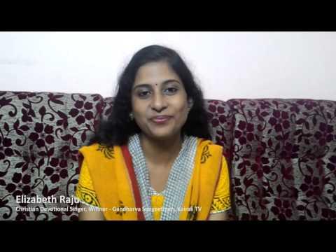 Greetings from Elizabeth Raju | Praise Singer Music Award | Season 1