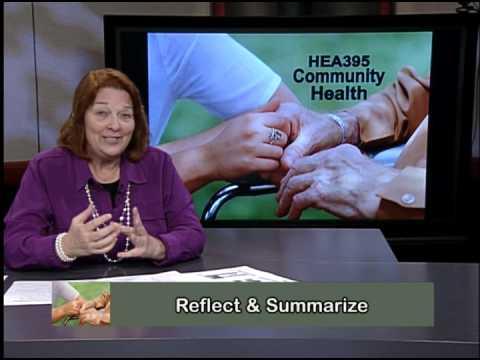 HEA395 Community Health #05 Spring 2015