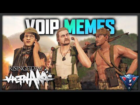 VOIP IS A MEME! | Rising Storm 2: Vietnam Gameplay