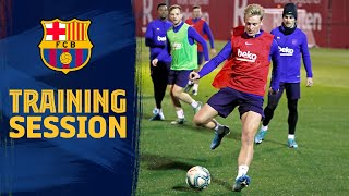 Back to work | Players return to training