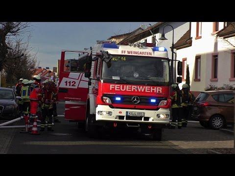 Kellerbrand in Weingarten/Baden [Rauchmelder verhindert schlimmeres] 22.12.2015
