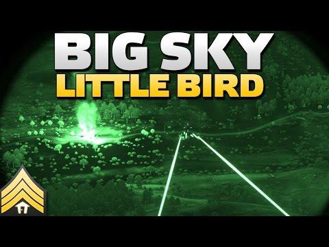 Big Sky, Little Bird - Arma 3 Close Air Support