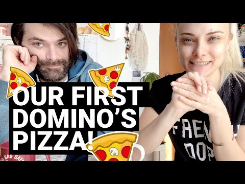 OUR FIRST DOMINO'S PIZZA · COVID-19 DAYS PART 1