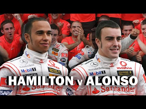 RIVALIDADES LEGENDARIAS DE F1: ALONSO VS HAMILTON (Cap. 2) Parte 1