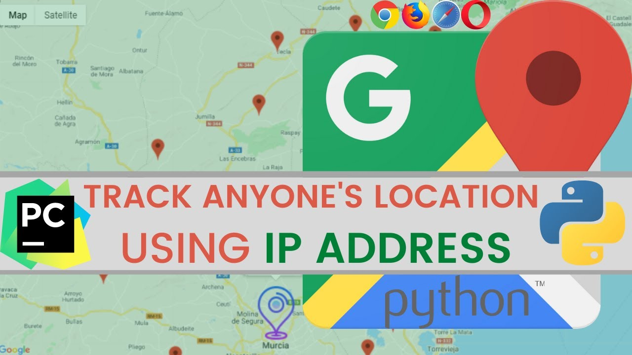Track Location Using IP Address In Python (4 lines) in [2021]