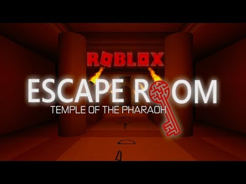 Temple Of The Pharaoh Walkthrough | Escape Room | Roblox
