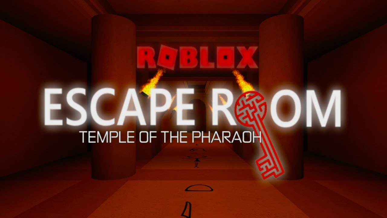 Escape Room Roblox Temple Of The Pharaoh