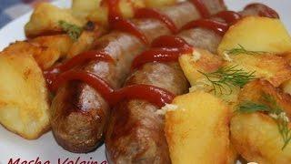 видео Немецкие домашние колбаски: рецепт с фото
