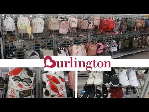 BURLINGTON SHOPPING!!! DESIGNER BACKPACKS/PURSES/ SHOES & MORE