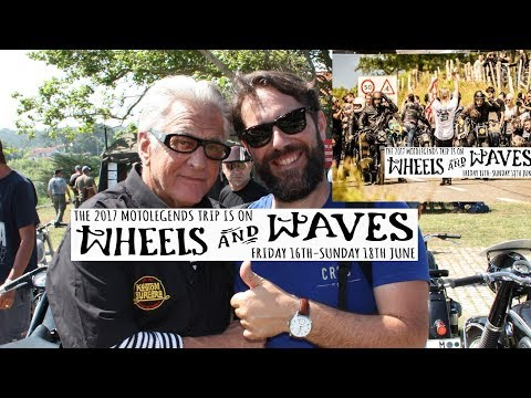 WHEELS AND WAVES 2017 Motorcycles Surf Music Skate Punks Peak Races flattrack Classic BMW Kompressor