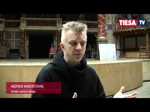 """E.Nekrošiaus """"Hamletas"""" su A.Mamontovu žavėjo Londoną"""