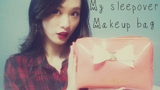 My sleepover makeup bag (eng subtitiles) Thumbnail