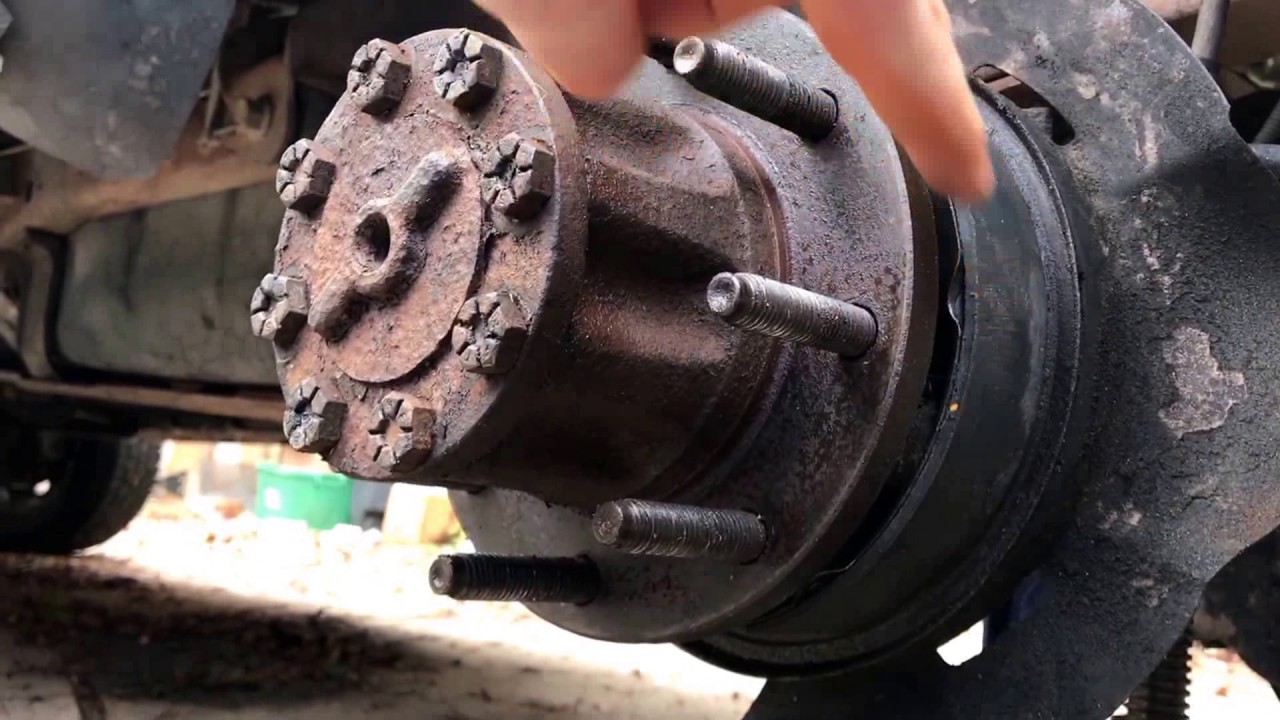 Adjusting Parking Brakes 1999 F350 Youtube Ford E150 Econoline Need The Rear Drum Brake Diagram