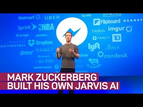 Mark Zuckerberg builds his own Jarvis AI