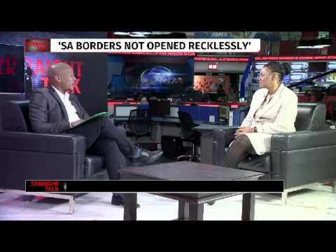 Straight Talk with Sifiso Mahlangu:  Home Affairs minister H