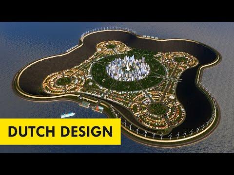 If the Sunken City of Atlantis Were Built Today | Timelapse Build Cities: Skylines |