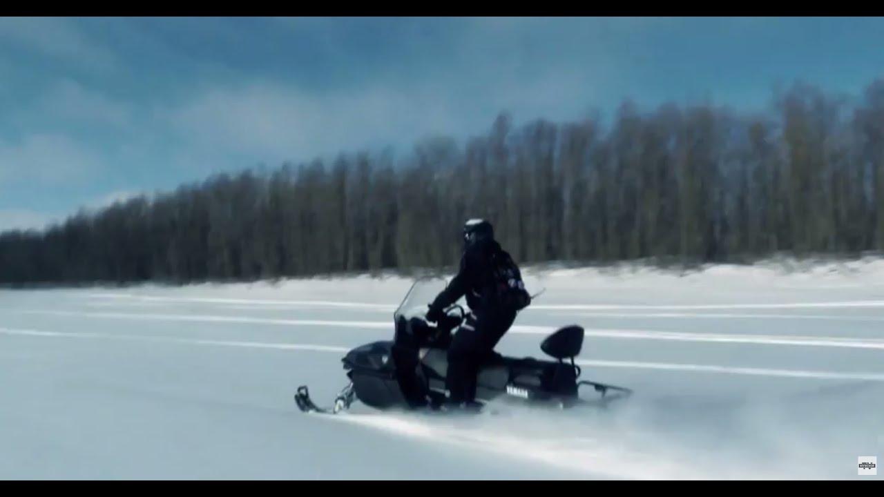 Снегоход Yamaha VK 540 (Viking). Квадроциклы и снегоходы. Выпуск .