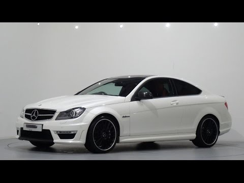 Mercedes Benz C63 AMG Coupe MCT 7 GTronic Finished in Diamond