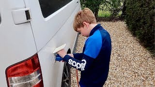 🚐VANLIFE TRIP TO OXFORD | KID HOOKS UP THE ELECTRICS!!⚡️