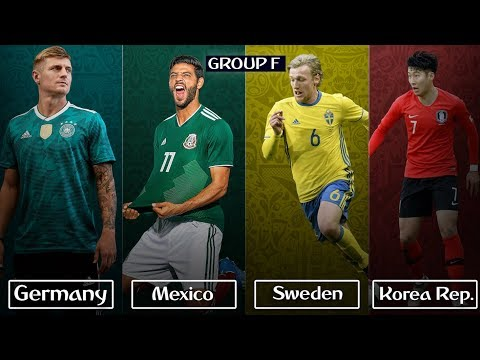 FIFA World Cup 2018 Preview   Group F