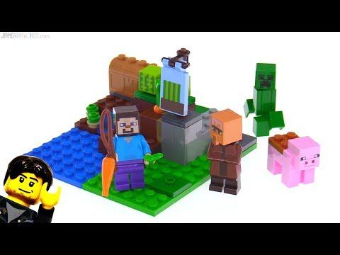 LEGO Minecraft The Melon Farm review! 21138