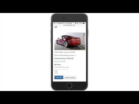 My Bidder App Overview