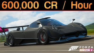 Forza Horizon 4 | How To Earn 600,000 CREDITS in 1 HOUR