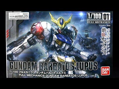 941 - 1/100 Gundam Barbatos Lupus UNBOXING