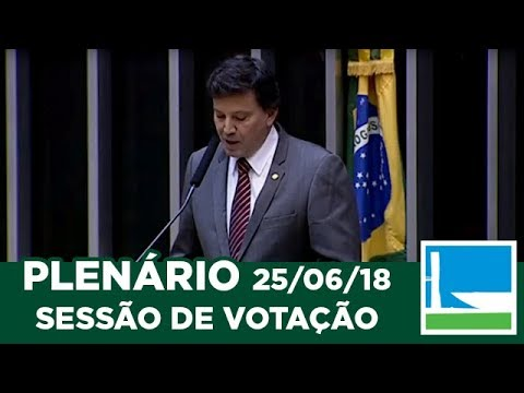 PLENÁRIO - Sessão Deliberativa - 25/06/2018 - 16:00