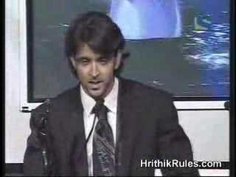 Filmfare 2007 Best actor Hrithik roshan