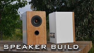 Amazing Desktop Speaker Project | DIY Speaker Build