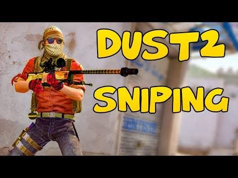 SNIPING ON DUST2 - CSGO Competitive FACEIT